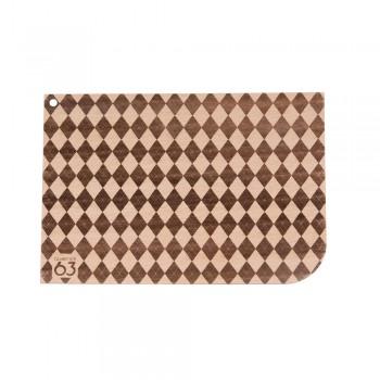 Holzkarte Muster Otto