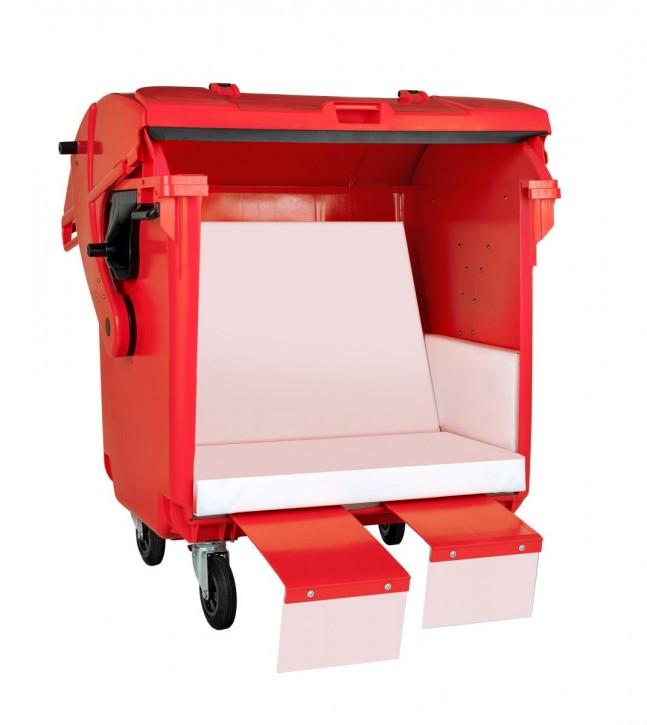 Sonnentonne rot im Kundendesign