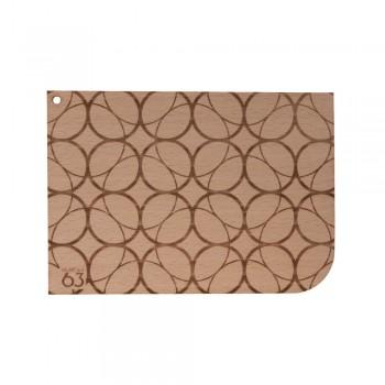 Holzkarte Muster Berta