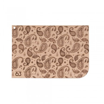 Holzkarte Muster Lisa