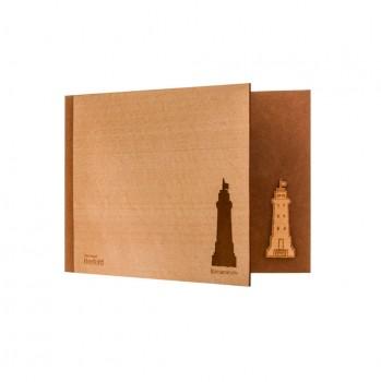 Heimatkarte Holz / Tonkarton