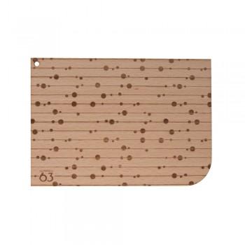 Holzpostkarte Hilde