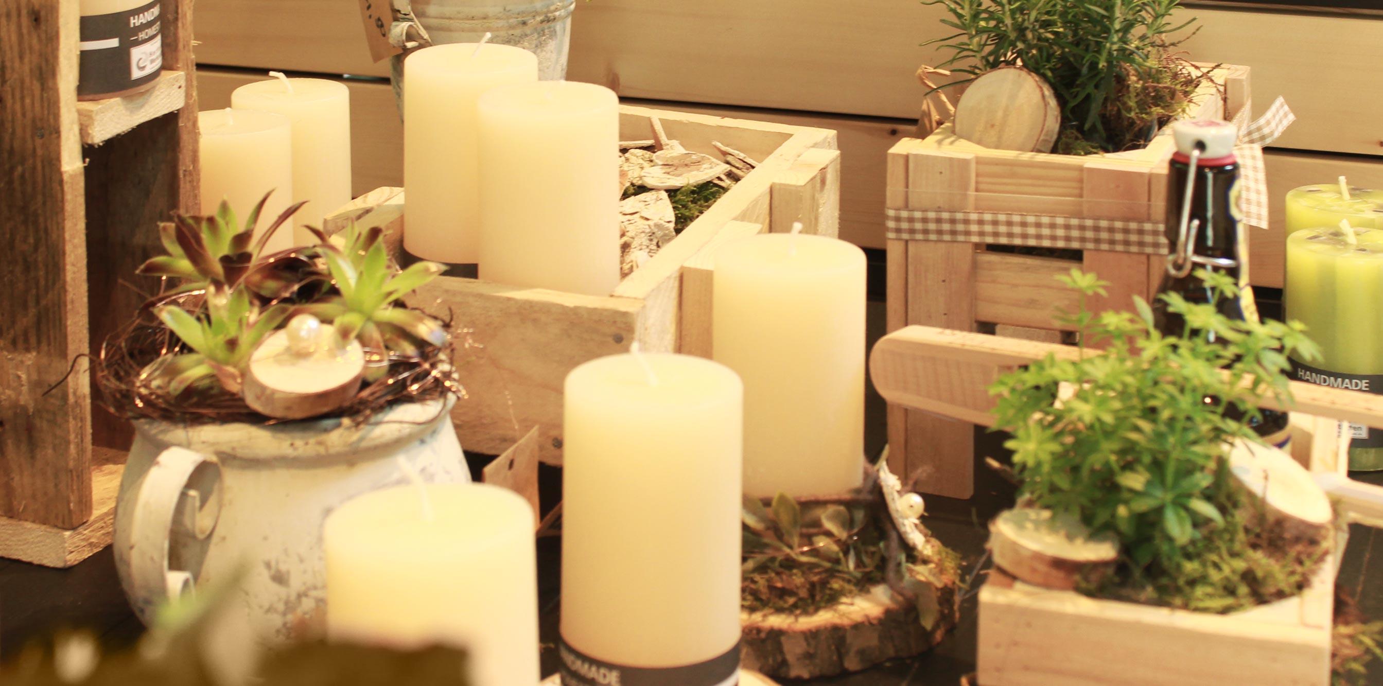 Kerzen bei Quartier 63
