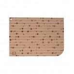 Holzkarte Muster Hilde